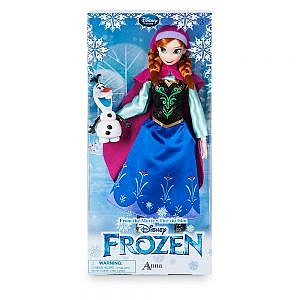 MUÑECA ANNA CON OLAF