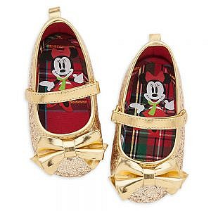 ZAPATOS DORADOS MINNIE
