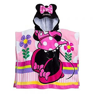 TOALLA CAPOTA MINNIE MOUSE