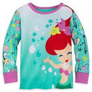 Pijama 2 piezas Sirenita bebe