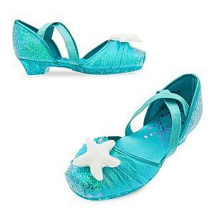 Zapatos del Disfraz La Sirenita