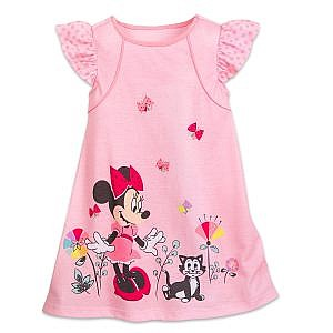 Pijama Bata Minnie Mouse