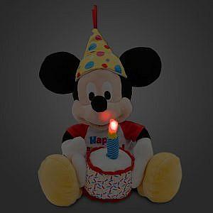 Peluche Mickey Mouse canta cumpleaños – 13 pulgadas