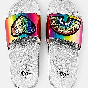 Chanclas arcoiris