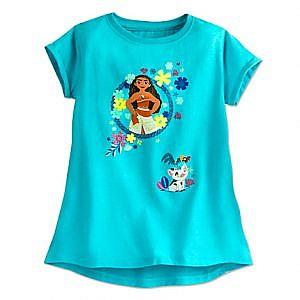 Camiseta azul Moana
