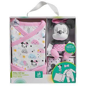 Set recien nacido Minnie Mouse ROSADO