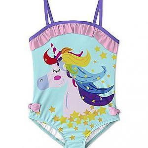 Traje de baño 1 pieza Unicornio