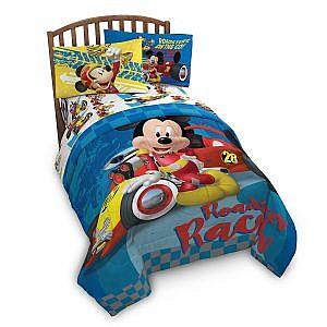 Juego de sabanas Mickey Roadster Twin