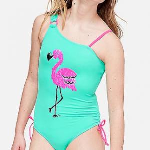 Traje de baño 1 pieza Flamingo Justice