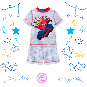PIJAMA SHORT SPIDERMAN