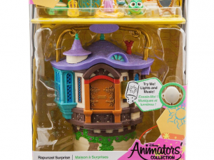 Mini castillo musical rapunzel animator
