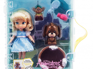 Mini doll cajita playset cenicienta