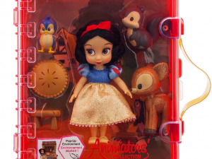 Mini doll cajita playset blanca nieves