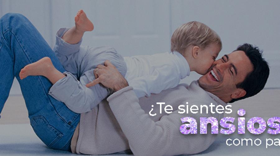 ¿Te sientes ansioso como padre?